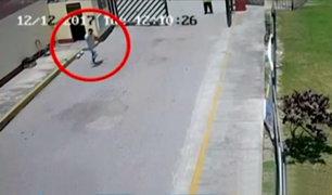 Crimen en San Marcos: video capta a presunto asesino de estudiante