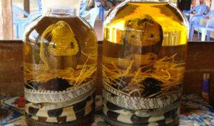 China: ¿Probarías un vino preparado a base de cobras?