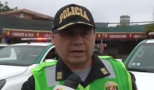 Policía ofrece recomendaciones para evitar accidentes de tránsito en viajes de fin de año