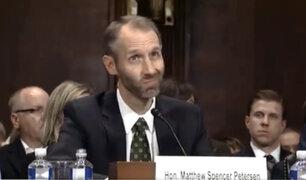 EEUU: candidato a juez de Trump hizo el ridículo durante audiencia