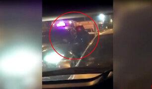 Delincuente asalta a conductor en plena avenida Canadá