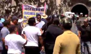 Áncash: pescadores realizan protesta y exigen veda total de la anchoveta