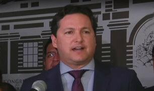Congresistas se pronuncian sobre acusaciones de Daniel Salaverry de las que no mostró pruebas