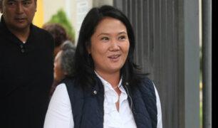 Keiko Fujimori defendió compra de televisores para el Congreso previo al Mundial