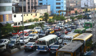 Lima: tráfico vehicular genera estrés al 72% de ciudadanos