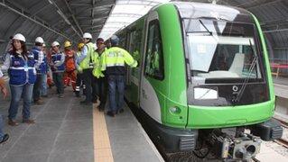 Metro de Lima se pronuncia tras cierre de estaciones por falla eléctrica