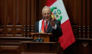 Vacancia Presidencial: Congreso debate permanencia del presidente tras discurso