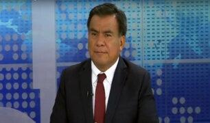 "Javier Velásquez Quesquén: ""Es necesario que PPK y Keiko se reconcilien"""