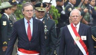 Carlos Basombrío confirmó que PPK aceptó su renuncia al Ministerio del Interior