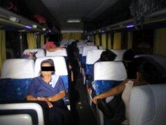 Violento asalto a pasajeros de bus interprovincial deja tres heridos