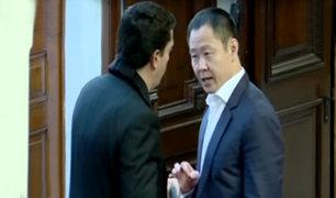 Kenji Fujimori tuvo altercado con Miguel Torres durante debate de vacancia