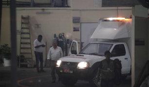 Alberto Fujimori es trasladado a clínica por cuadro de Hipotensión