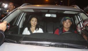Keiko Fujimori sobre el indulto: agradecemos la decisión del presidente