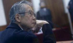 Pueblo Libre: simpatizantes mostraron su apoyo a Alberto Fujimori