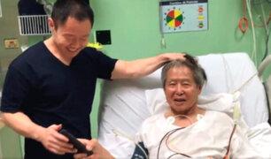 Alberto Fujimori sería dado de alta en las próximas horas