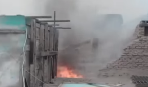 Cercado de Lima: voraz incendio deja dos niños fallecidos