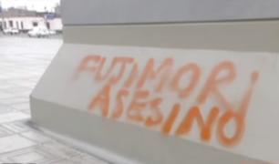 Cámaras de seguridad registran actos vandálicos tras marcha contra Indulto