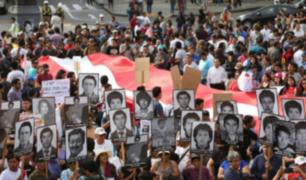 Plaza San Martín: protestas y disturbios por indulto a Fujimori