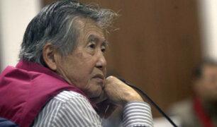 Alberto Fujimori es trasladado a Clínica Centenaio
