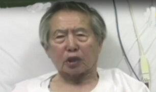 Alberto Fujimori: simpatizantes le llevaron serenata por Año Nuevo