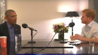 Príncipe Harry realizó entrevista a Barack Obama para la BBC en el programa Today