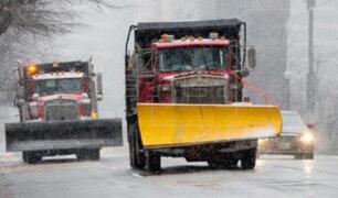 EEUU: primera nevada de la temporada se registra en Pennsylvania