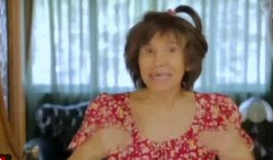 "Florinda Meza volvió a interpretar a la popular y carismática ""Chimoltrufia"""