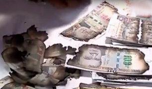 Incendio en Barrios Altos: mujer no puede recuperar su dinero quemado