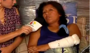Chofer que atropelló a mujer en Breña no se hace cargo de gastos médicos