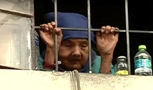 Beneficencia plantea ayudar a anciana que vive encerrada en Jesús María