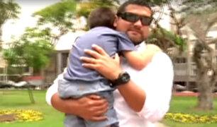 Hombre denuncia que su hijo sufrió profundo corte en conocido supermercado