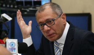 Ecuador: vicepresidente afirma que juicio político en su contra se trata de una venganza