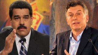"""Nicolás Maduro llama """"rata de cañería"""" a presidente Mauricio Macri"""