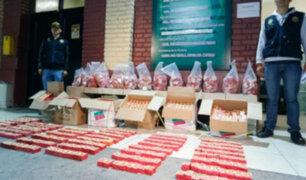 La Victoria: Incautan nueve cajas de pirotécnicos no autorizados
