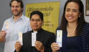 Papa Francisco: presentan entradas para la misa en Base Aérea Las Palmas