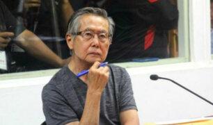 Fujimori declaró como testigo en juicio contra montesinos por secuestro de Gorriti