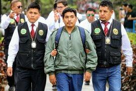 Crimen en San Marcos: PJ dicta 8 meses de prisión preventiva a asesino de estudiante