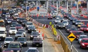 Éxodo por Año Nuevo: 1500 vehículos por hora se trasladan a playas del Sur