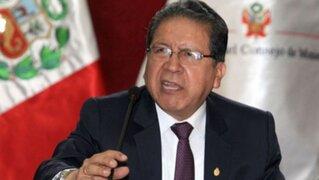Pablo Sánchez: Es absurdo que yo haya propiciado la fuga de Hinostroza