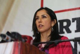 Nadine Heredia pide al PT aclarar supuestos aportes de Odebrecht al nacionalismo