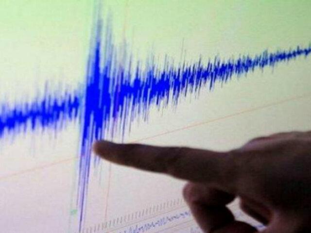 Sismo de magnitud 3.7 se registró esta mañana en Cañete