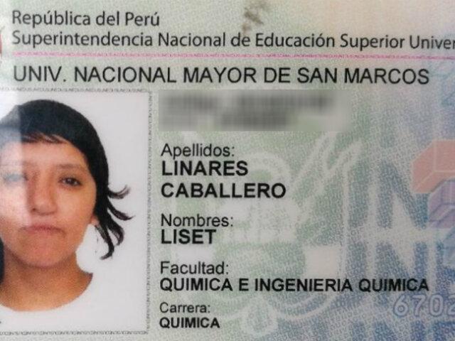 Desfiguran a estudiante de la Universidad Nacional Mayor de San Marcos