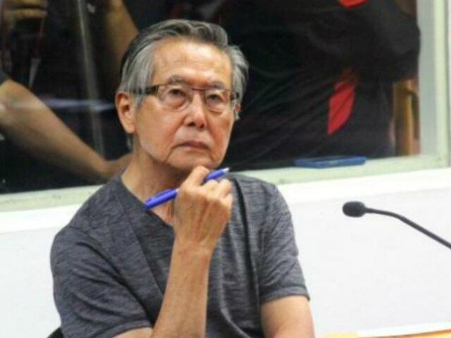 Dejan al voto decisión de incluir a Alberto Fujimori en el caso Pativilca