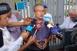 """De momento no hay alta médica para Fujimori"", dice ex congresista Aguinaga"