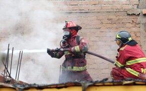 Año Nuevo 2018: se reportaron más de 100 incendios por uso de pirotécnicos