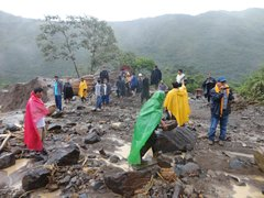 Cusco: huaico bloquea tránsito en el tramo Kimbiri-Quillabamba