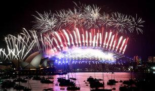 Año Nuevo: así celebró el mundo la llegada del 2018
