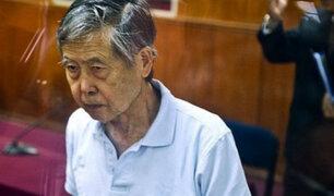 Alberto Fujimori permanecerá internado y con visitas restringidas
