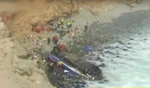 ¿Cómo informó la prensa extranjera sobre la tragedia en Pasamayo?