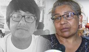Madre de estudiante asesinado en San Marcos denuncia amenazas de muerte